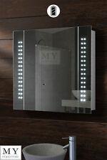 BATTERY LED ILLUMINATED BATHROOM MIRROR CABINET  / IP44 - PHOTONIC