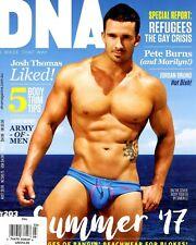 DNA Magazine #203 gay men DYLAN HART RICKY TISHLER