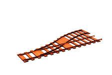 Railway Track Split Point Pack (2) R023
