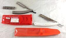 2 Thinning Straight Razor Barber Salon Hair Stylist Styling Grooming Equipment