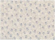 Tela 100 % Lino - Patchwork, Cartonaje, Saco, Deco - Se vende por 20 cm - Rosas