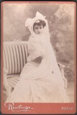 Mademoiselle Harlay. Photographie Reutlinger vers 1895.