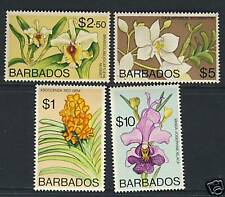 Orchids - Flowers - Barbados - Scott 408b - 411b