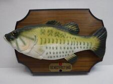 Big Mouth Billy Bass Singing Mounted Fish