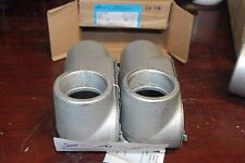 """Cooper Crouse-Hinds, Ll67 Cg, 2"""" Form 7 , Box of 2, New in box"""
