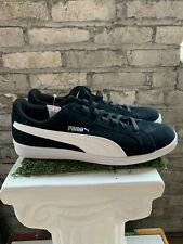 New PUMA Men's Suede Smash Sneakers Casual Shoes Athletic Black White Pick Size
