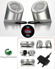 Sony Ericsson estéreo speaker mps-100 Silver nuevo embalaje original