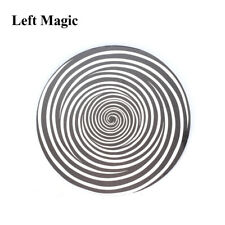 Spiral Metal Illusion Steel Magic Tricks Inflated Shrink Strolling Amazing Prop
