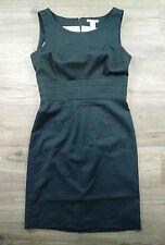 H&M Dress Womens 8 Professional Business Fully Black Dress A84