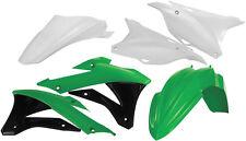 ACERBIS PLASTIC KIT (GREEN) Fits: Kawasaki KX85,KX100