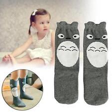 Lovely Toddler Baby Kids Girls Cartoon Soft Cotton Knee High Socks 1-3 Years PK