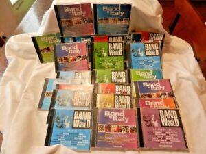 LOTTO 27 Cd BAND IN ITALY/BAND IN THE WORLD De Agostini CD Musica Collezione
