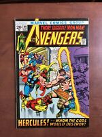 The Avengers #99 (1972) 8.0 VF Marvel Bronze Age Comic Book Hercules Iron Man