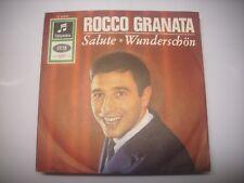 """ROCCO GRANATA """"Salute"""" rare 7' Single Columbia TOP condition"""