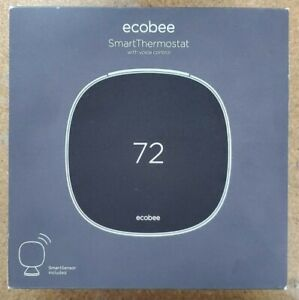 Ecobee Smart Thermostat with Voice Control, SmartSensor, Alexa