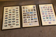 More details for castella motoring history,donington collection,steam x 3 framed collectors cards