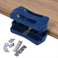 Double Edge Laminate Trimmer Woodworking Tool Steel Blade For Wood Plastic NEW