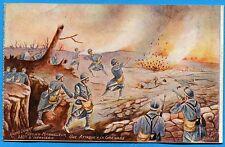 CPA Patriotique: 330° d'Infanterie - Une Attaque à la Grenade  / Guerre 14-18
