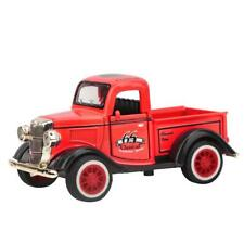 Alloy Pull Back Car Toy Pickup Truck Model Toy w/ Sound Light Car Vehicle Toys