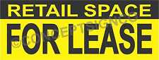 2x5 Retail Space For Lease Banner Outdoor Sign Real Estate Property Commercial