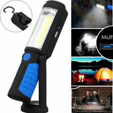 Rechargeable COB LED Magnetic Work Light Car Garage Mechanic Home Torch Lamp