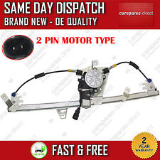 RENAULT SCENIC MK2 03>ONWARDS FRONT RIGHT SIDE WINDOW REGULATOR WITH 2 PIN MOTOR