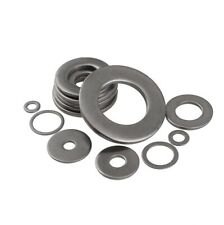 M3~M20 304 stainless steel ultra-thin screws metal gasket DIN125 flat washer