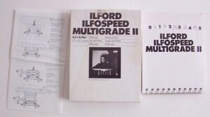 Ilford Multigrade full set 11 photographic filters - trimmed down