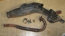 77 78 YAMAHA XT500 XT 500 OEM   Complete EXHAUST   muffler & head pipe 1T2-14710