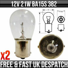 (01-06) Audi A4 B6 Rear Foglight Bulbs / Bulb Light Lights Fog 382 12v 21w