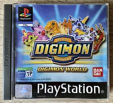 Caja Y Manual Digimon World PlayStation 1 PS1 PSX PAL España