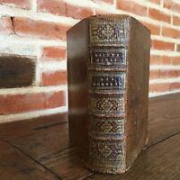 [Sacy] Sainte Bible les Nombres avec explication et le Deuteronome Desprez 1735