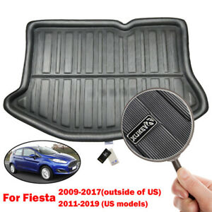 Tailored Boot Liner Cargo Tray Trunk Floor Mat For Ford Fiesta MK7 Hatch 09-17