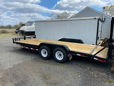 2015 Pj 83 X 20' Equipment Trailer 14K Lb Flatbed