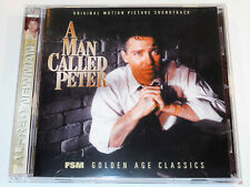 Alfred Newman A MAN CALLED PETER Richard Todd Jean Peters Soundtrack CD (NM)