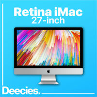 "NEW Apple Retina iMac 27"" 16GB Ram 5k 3.4Ghz KABY LAKE i5 1TB Fusion Windows 10"