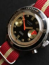 Anker De Luxe Swiss Made Vintage Chronograph Mens Watch Valjoux 7733