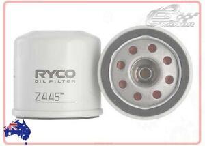 Ryco Oil Filter FOR Nissan Skyline Crossover 2009-2018 370GT (J50) SUV Z445