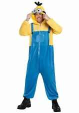 Minions The Rise Of Gru Oversized Hooded One Piece Adult Costume Jumpsuit STD-XL