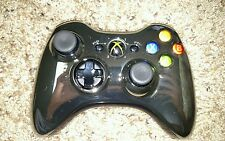 Official Microsoft xbox 360 Wireless Controller Chrome Silver and chrome black