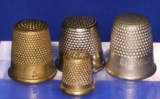 More details for collection of thimbles, includes very small /child's [22188]