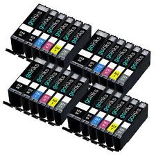 24 Cartouches d'encre pour Canon Pixma iP8750 MG6350 MG7150 MG7550 MX925