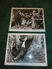 I WAS A TEENAGE WEREWOLF - SET OF 2 ORIGINAL PUBLICITY PHOTOS - 1957