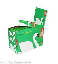 Swan Green Rizla Standard Papers Cigarette Regular Rolling Paper - Corner Cut