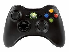 New Official Microsoft Xbox 360 Wireless Controller Black - New in the box