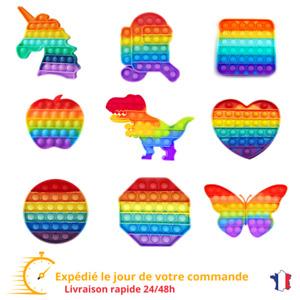 Pop it Jouet popit Enfant Jeu Anti Stress Sensoriel Push Bubble Bulle FR 24/48h