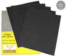 SET Nassschleifpapier Schleifpapier P100-P2000 Schleifbogen Lack Holz wasserfest