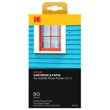 Kodak PHC-80 2 Print-Kartuschen + 80 Blatt Fotopapier  NEU
