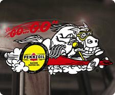 Pennzoil Go Go! Sticker Autocollant pegatina autocollante Hot Rod STP RACING OIL