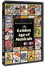 The Golden Age of Musicals 5 Discs 17 Films Bob Hope Dean Martin Jerry Lewis